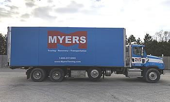 Enclosed Tarp Truck